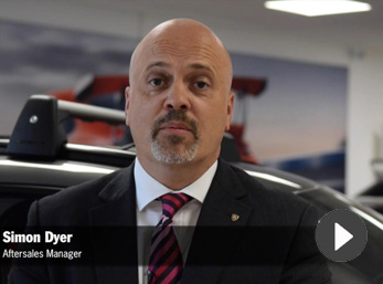 Video: Welcome to Porsche Centre West London from our Aftersales Manager, Simon Dyer
