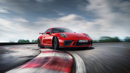 The new 911 GT3. Born in Flacht.
