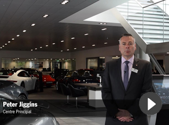Video: Welcome to Porsche Centre West London from our Centre Principal, Peter Jiggins