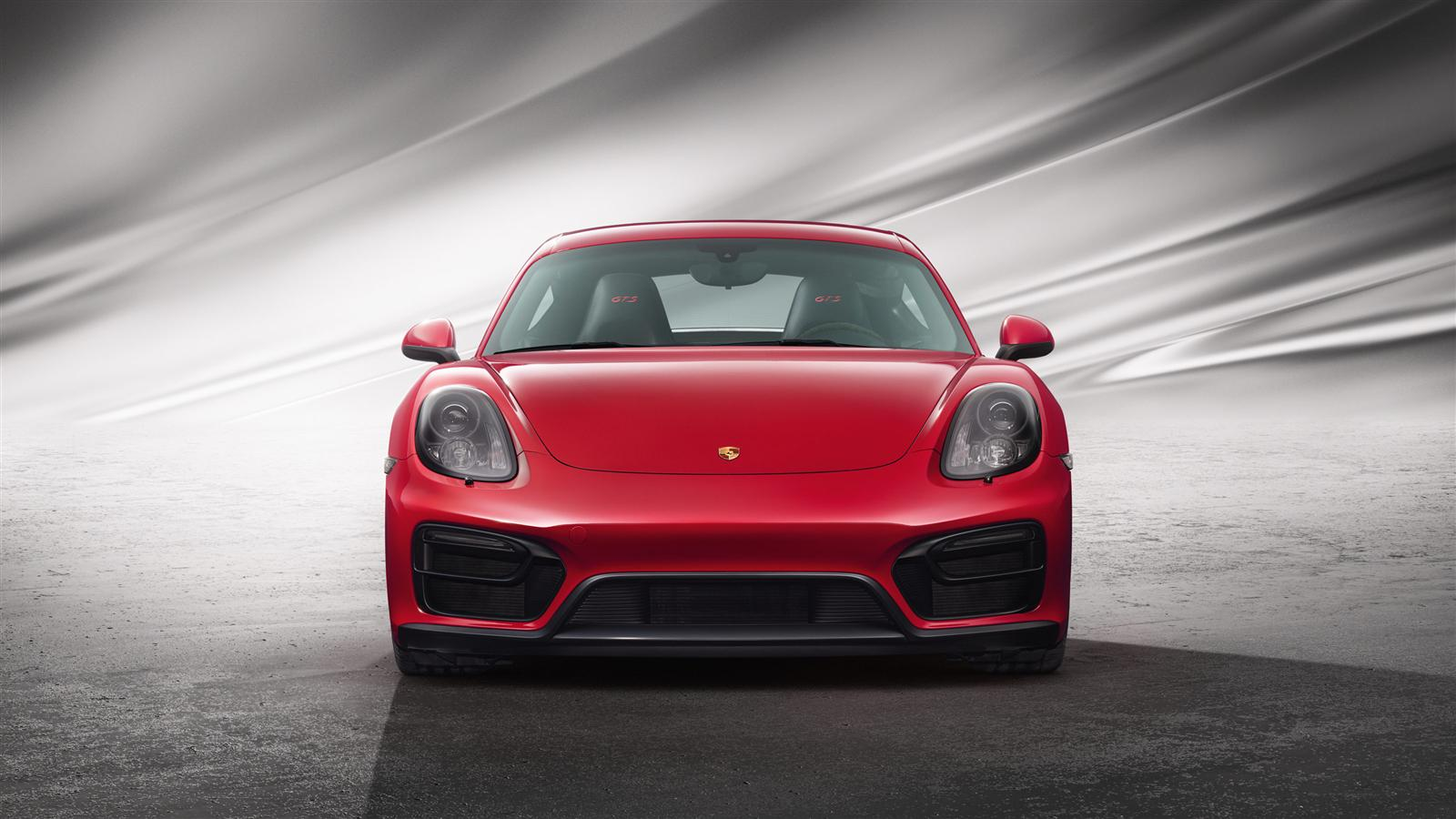 Cayman GTS (red, front)