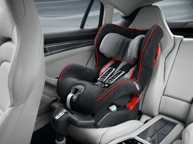 The Porsche Child Seat Range